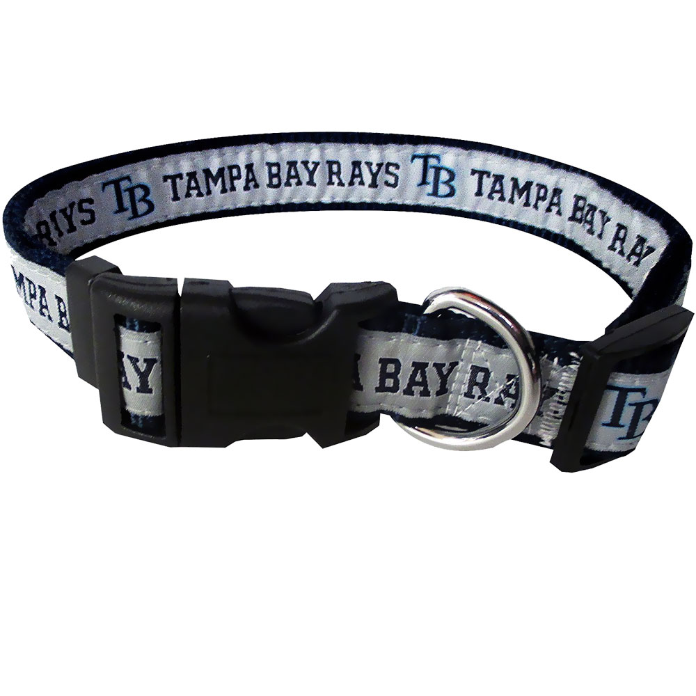 Tampa Bay Rays Collar - Ribbon (Large)
