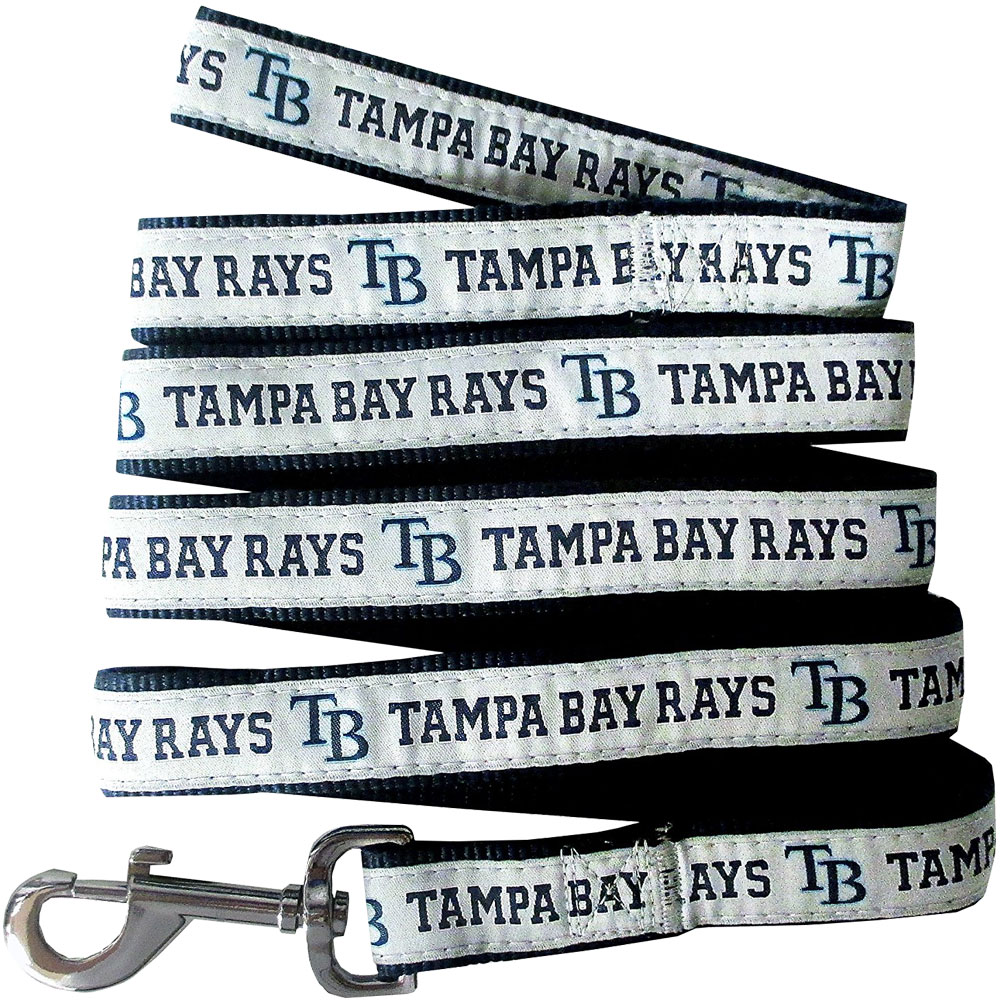 Tampa Bay Rays Dog Leash - Ribbon