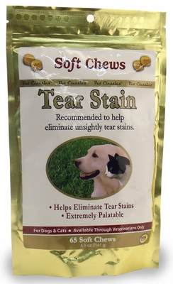 Tear Stain for Dogs & Cats (65 Soft Chews)