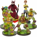 Teenage Mutant Ninja Turtles, April & Splinter Aquarium Ornament Set