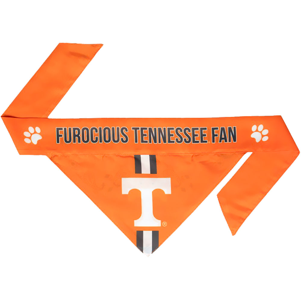 Tennessee Volunteers Dog Bandana - Tie On (Small)