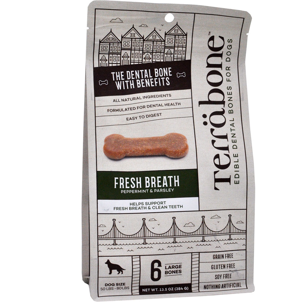 Terrabone Dental Chew Bones Fresh Breath