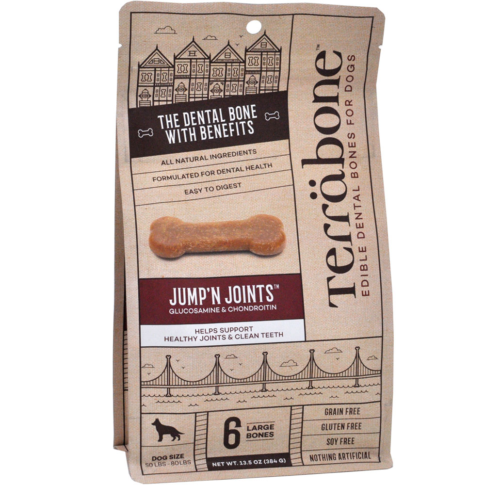 Terrabone Dental Chew Bones Jump'n Joints