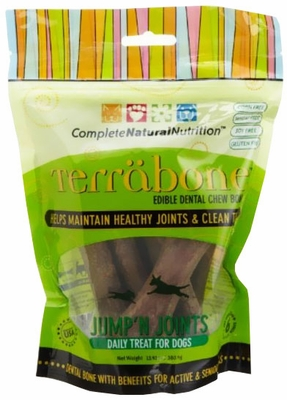 Terrabone Dental Chew Bones Jump'n Joints - Regular (6 count)