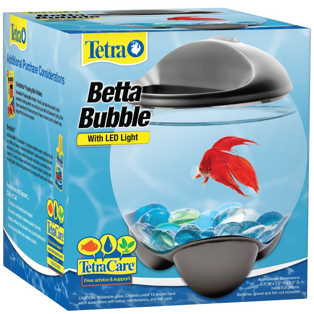 Tetra betta bubble kit for Betta fish tank size