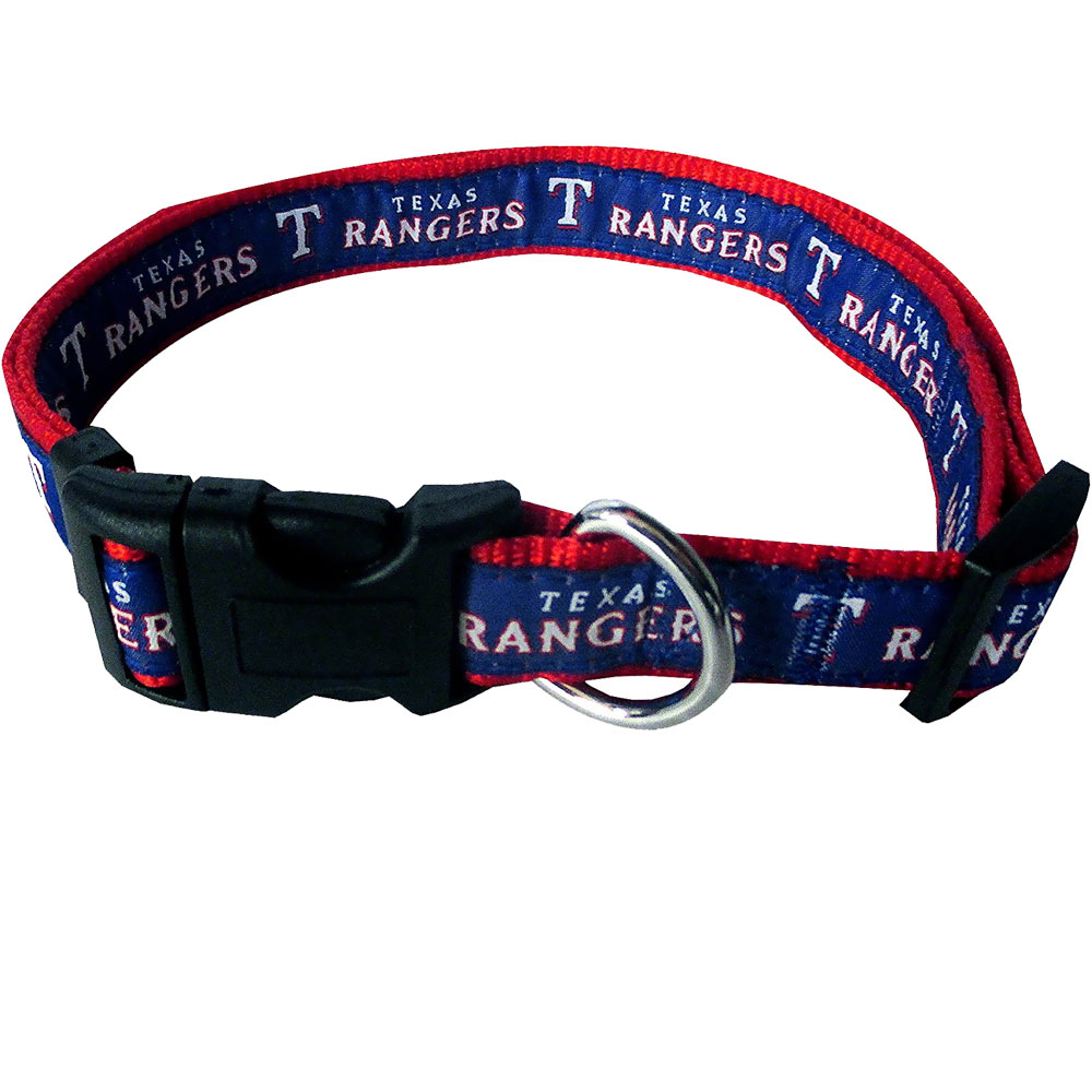 Texas Rangers Collar - Ribbon (Large)