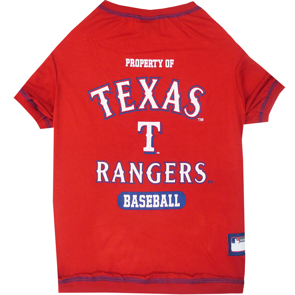 Texas Rangers Dog Tee Shirts