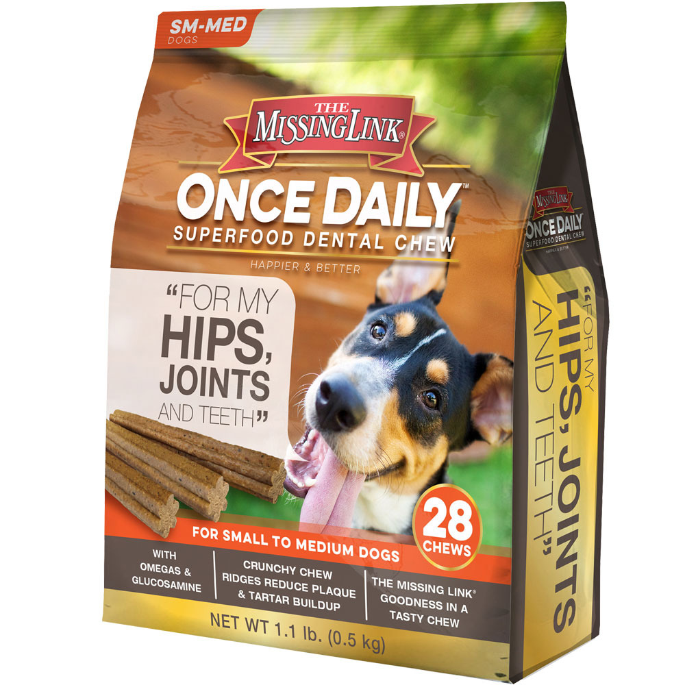 The Missing Link Once Daily Hip & Joint for Small/Medium Dog (28 count)