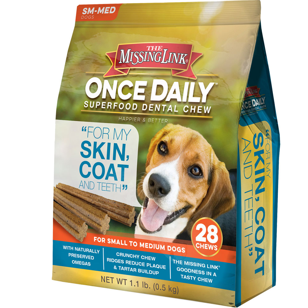 The Missing Link Once Daily Skin & Coat for Small/Medium Dog (28 count)
