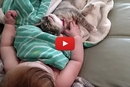This Baby Takes A Nap With Her Kitten... The Result Is Adorable