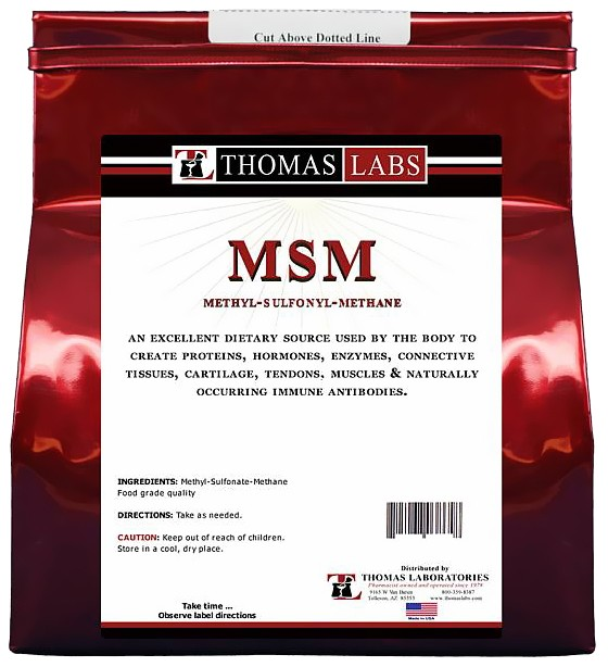 Thomas Labs MSM Pure Powder