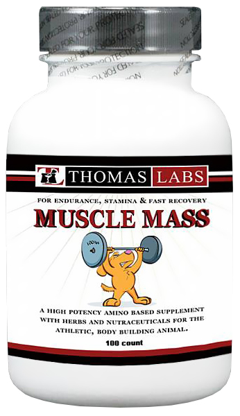 Thomas Labs Muscle Mass (100 count)