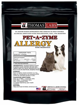 Thomas Labs Pet-A-Zyme Allergy Powder (12 oz)