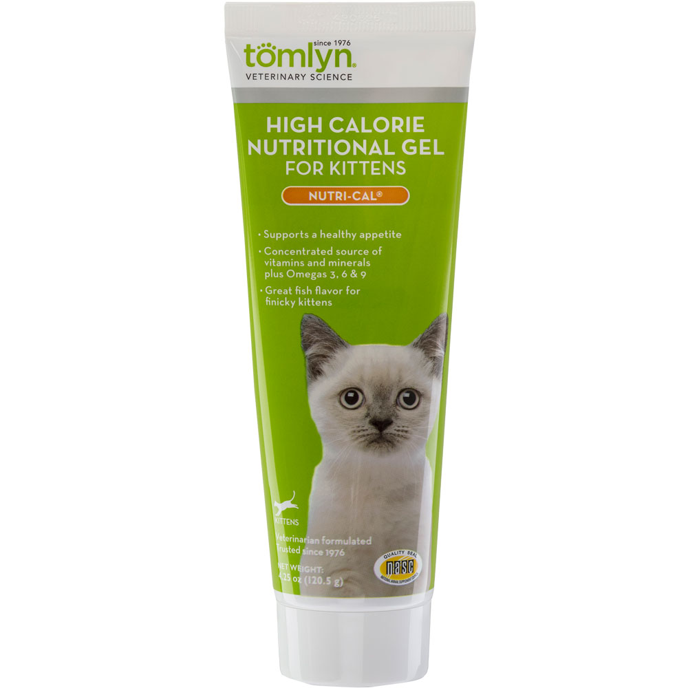 Tomlyn High Calorie Nutritional Gel for Kittens -  Nutri-Cal (4.25 oz)