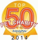 Top 50 Pet Charities of 2014