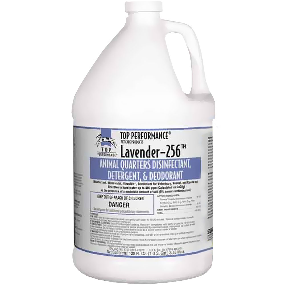 Top Performance 256 Disinfectant Gallon - Lavender
