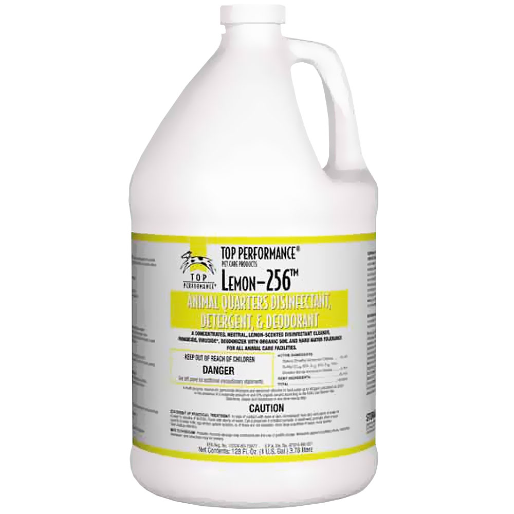 Top Performance 256 Disinfectant Gallon - Lemon