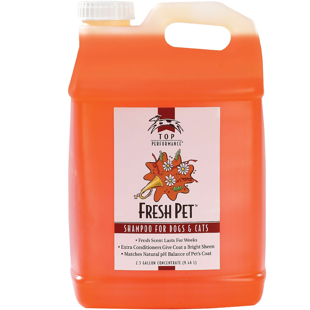Top Performance Fresh Pet Shampoo (2.5 Gallon)