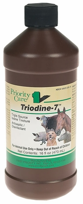 Triodine-7 Triple Source Iodine Tincture (16 oz)
