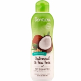 Tropiclean Oatmeal & Tea Tree Shampoo (20 oz)