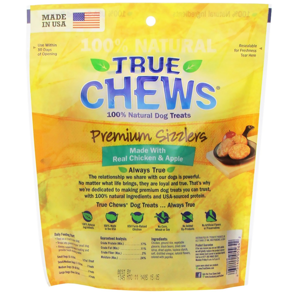 Top Chews Chicken And Apple Dog Treats