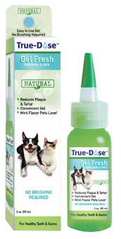 True-Dose Dental Gel Fresh for Dogs & Cats (2 oz)