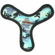 Tuffy's Ultimate Boomerang Camo Blue Dog Toy