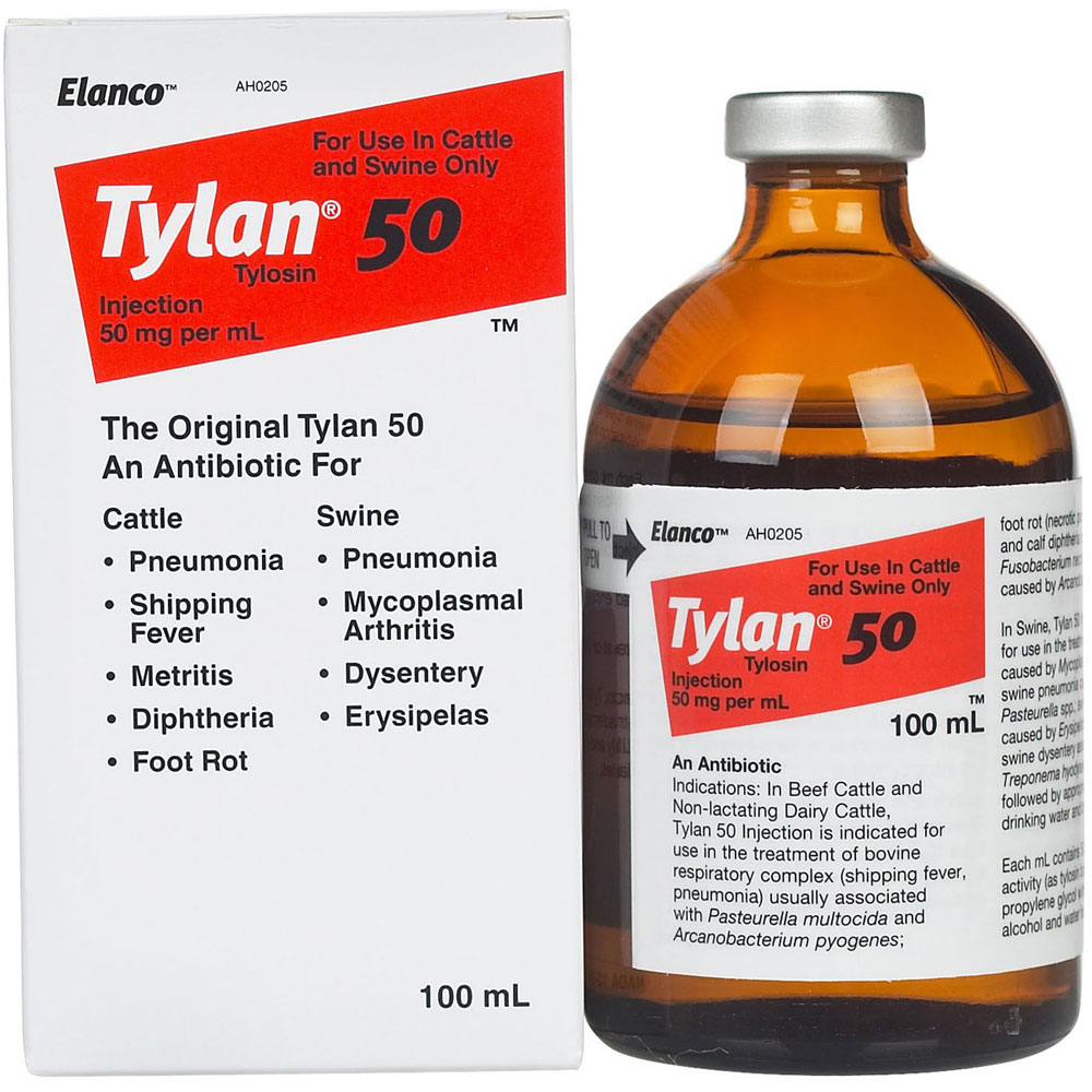 Tylan 50 - Inject (100 ml)