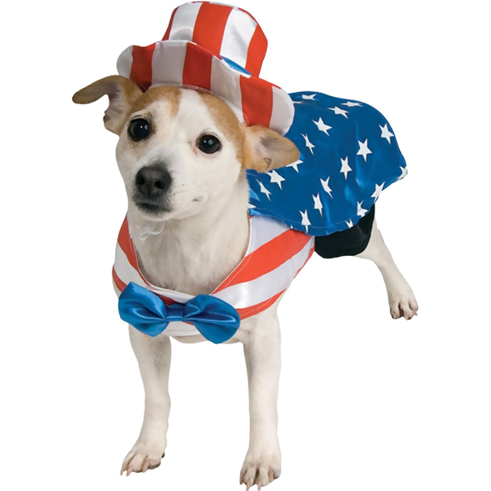 Uncle Sam USA Dog Costume - XLarge