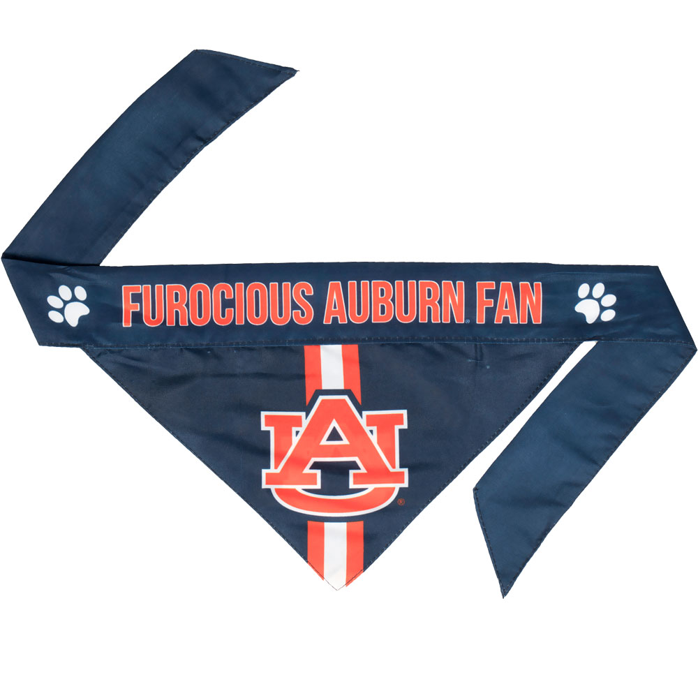 University of Auburn Dog Bandana - Tie On (Large)