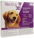 Vectra 3D PURPLE for Dogs 56-95 lbs - 3 Doses