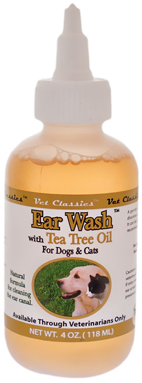 Vet Classics Ear Wash with Tea Tree Oil (4 oz)