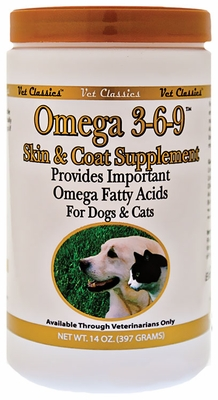 Vet Classics Omega 3-6-9 Skin & Coat Supplement (14 oz)