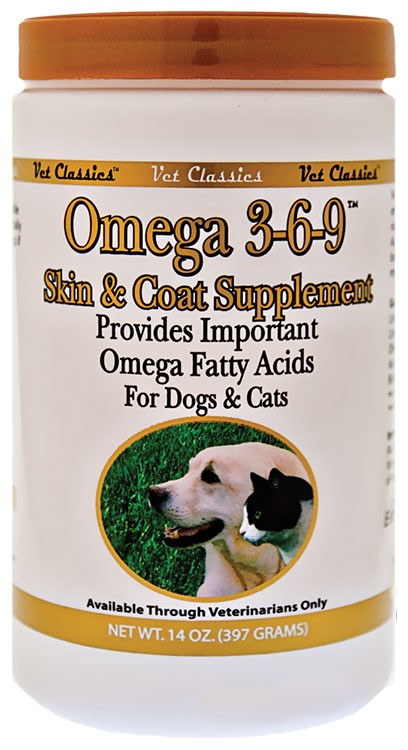 Vet Classics Omega 3-6-9 Supplement