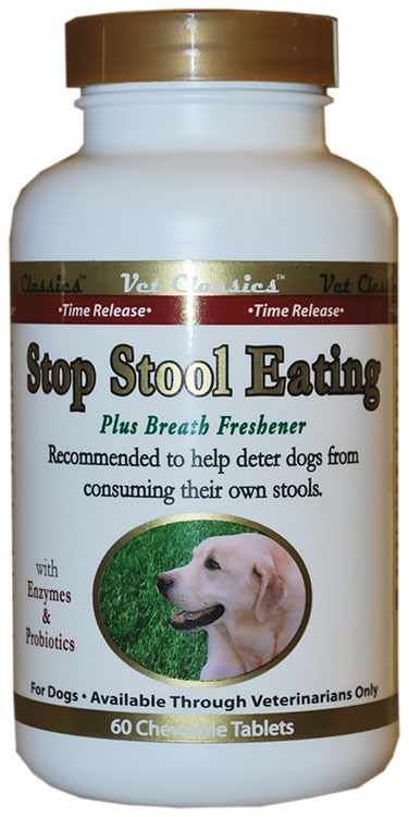 Vet Classics Stop Stool Eating Tablets 60 Count