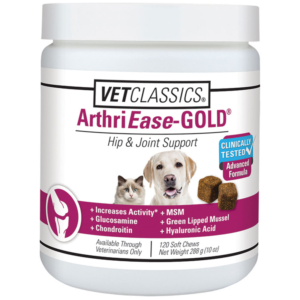 Vet Classsics ArthriEase-GOLD (120 Soft Chews)