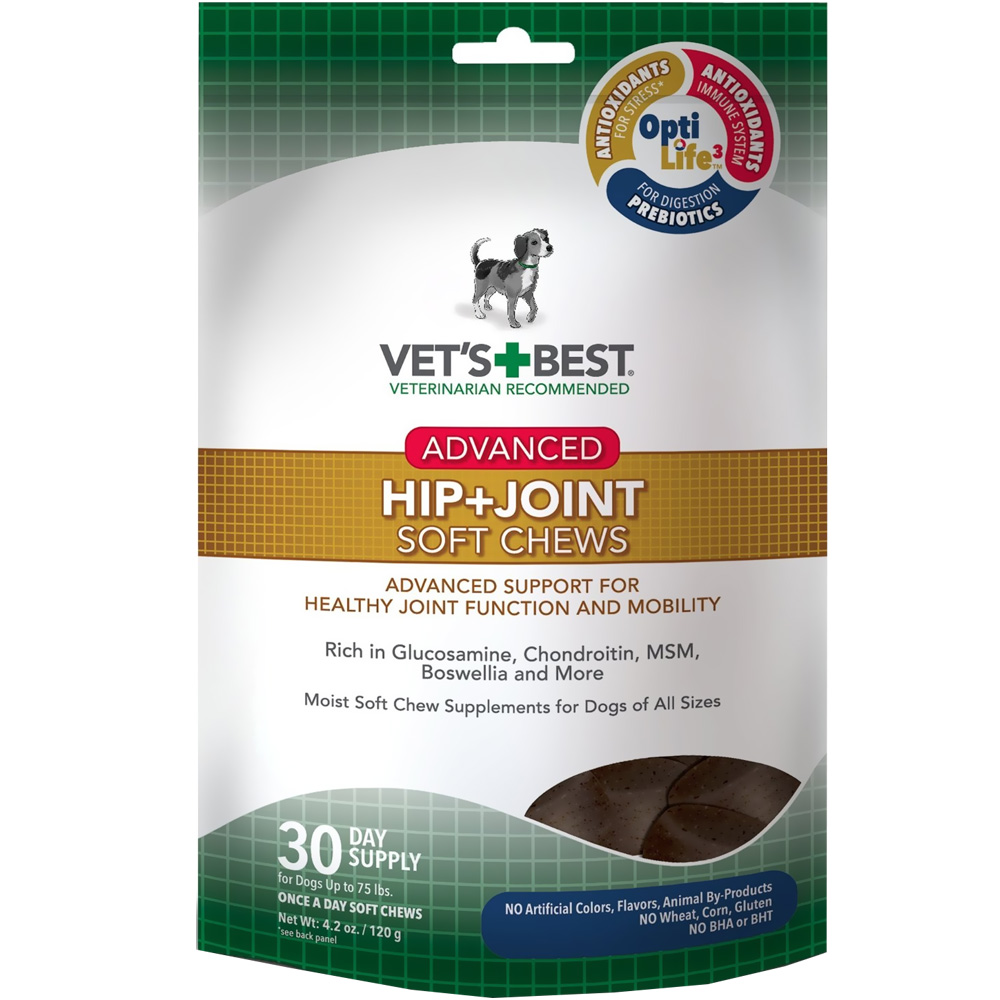 Vet's Best Advanced Hip + Joint Soft Chews (30 count)