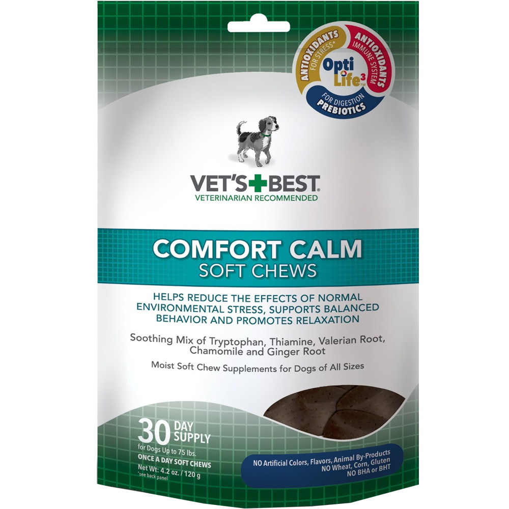 Vet's Best Comfort Calm Soft Chews (30 count)