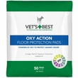 "Vet's Best OXY ACTION Floor Protection Pads 22"" x 22"" (50 pads)"