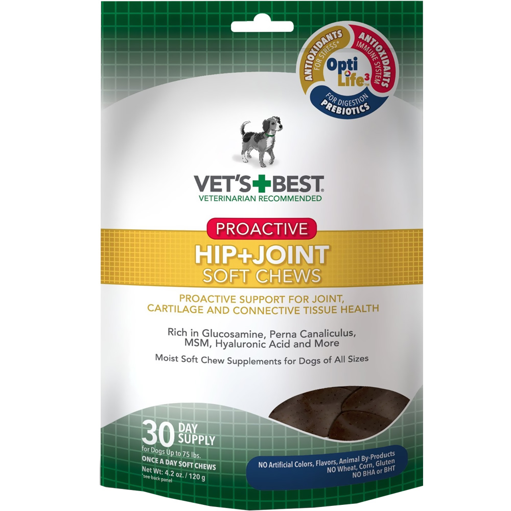 Vet's Best Proactive Hip + Joint Soft Chews (30 count)