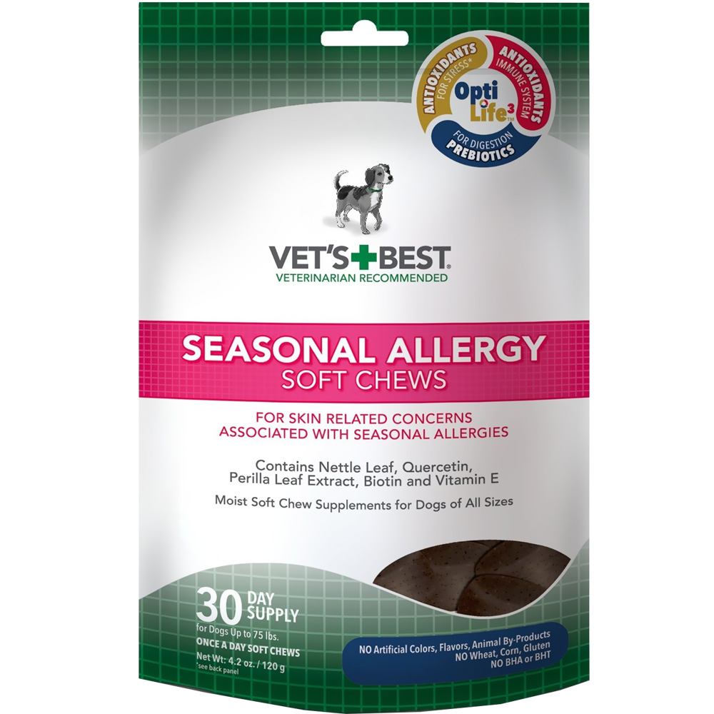 Vet's Best Seasonal Allergy Soft Chews (30 count)