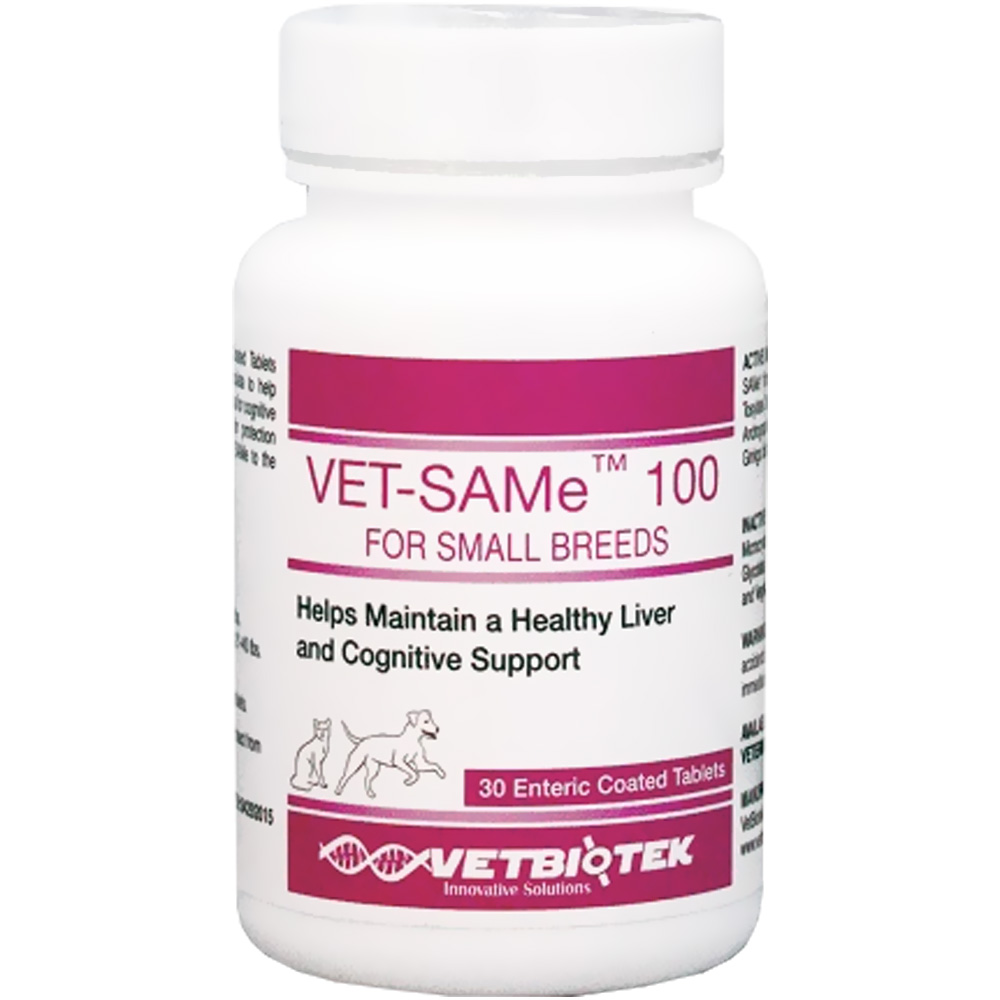 VetBiotek Vet-SAMe 100mg (30 count)