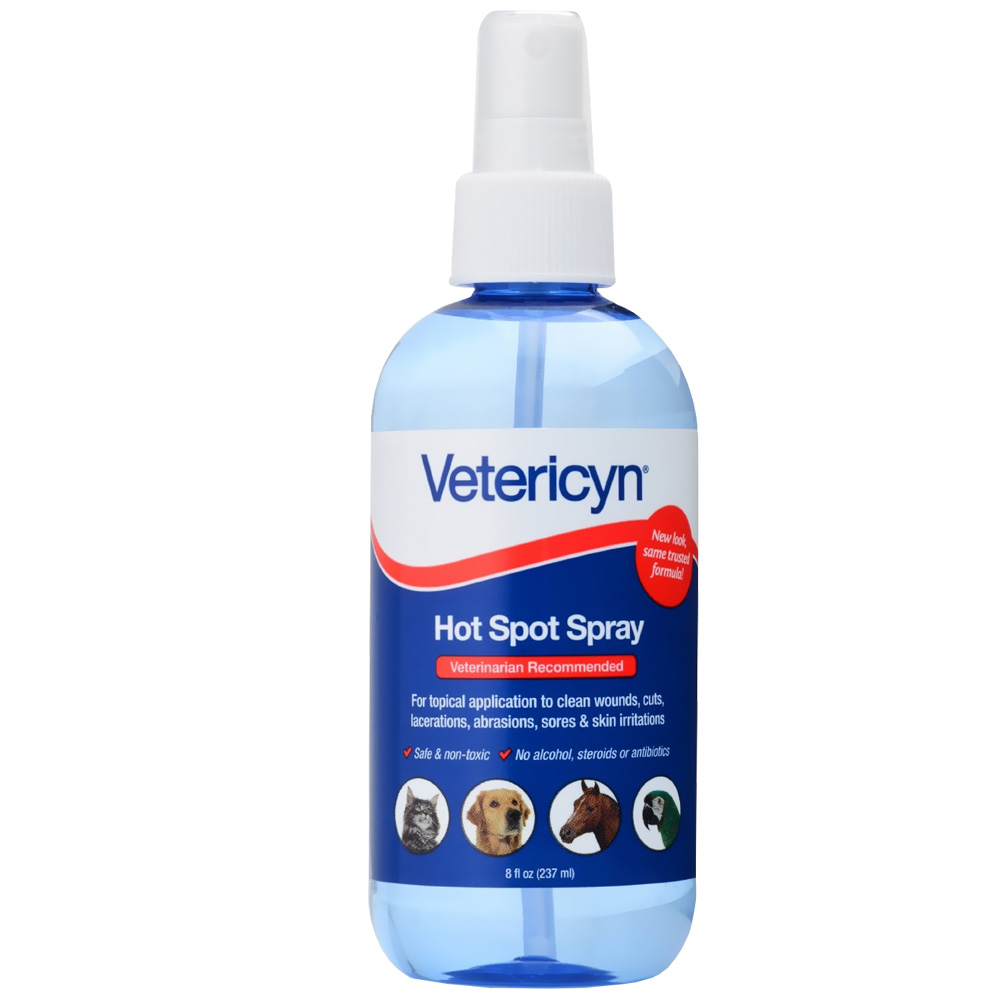 Vetericyn Hot Spot Liquid (8oz Pump)