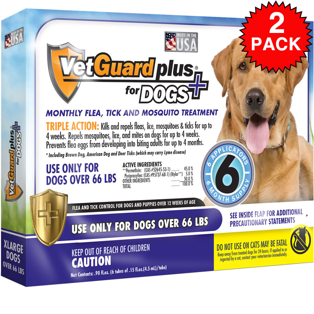 vetguard plus for extra large dogs 12 month supply over 66 lbs. Black Bedroom Furniture Sets. Home Design Ideas