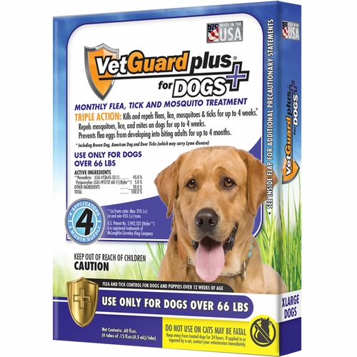Flea repellant for extra large dogs
