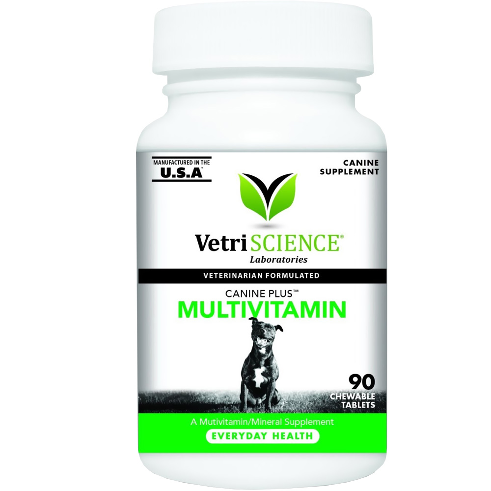 VetriScience Canine Plus MultiVitamin (90 Chewable Tablets)
