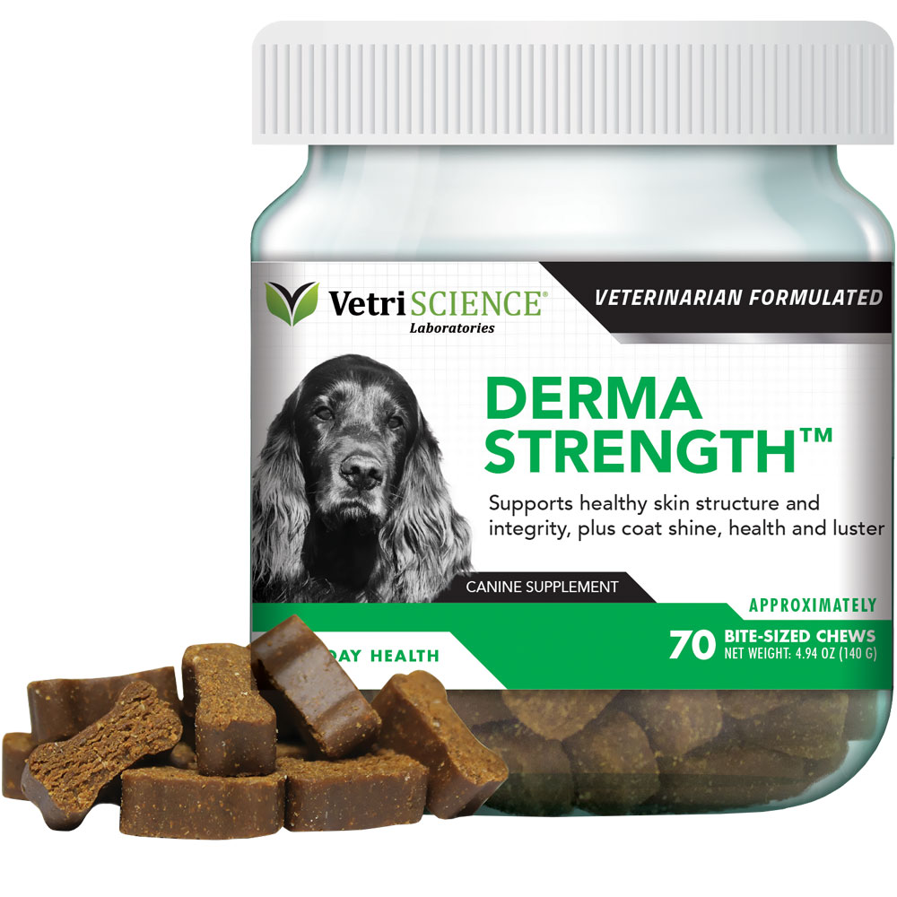 VetriScience Derma-Strength (70 Bite-Sized Chews)