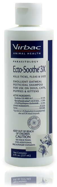 Virbac Ecto-Soothe Shampoos and Pyrethrin Dip
