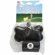 Wag Bags Dispenser Bone - BLACK (30 Bags)