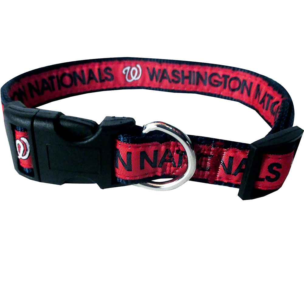 Washington Nationals Collar - Ribbon (Medium)